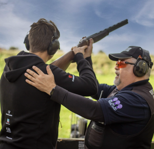 private 1:1 Shooting Lessons in Sussex with professional instructor Iain Stirling